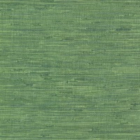 Fiber Green Faux Grasscloth Wallpaper