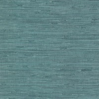 Fiber Teal Faux Grasscloth Wallpaper