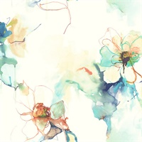 Floral Abstract Wallpaper