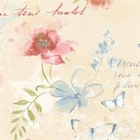 Floral and Stamps