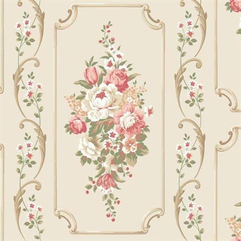 floral wallpaper panels - photo #3