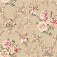 Floral Scrolling