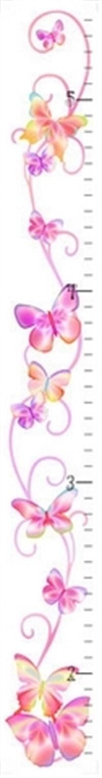 Fluttering Butterfly Growth Chart