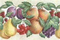 Double Die Cut Fruit Wallpaper Border