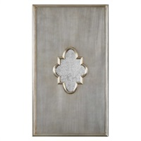 Gardanne Silver Leaf Antique Mirror