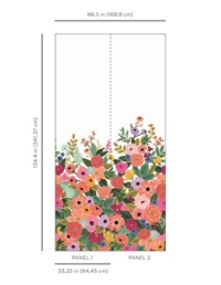 Garden Party Wallpaper Mural