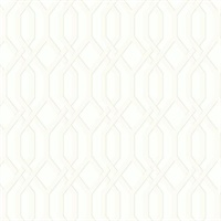 Ashford House Garden Pergola Wallpaper - White