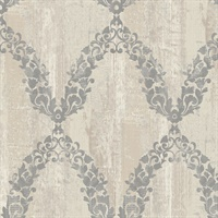 Garland Trellis Wallpaper