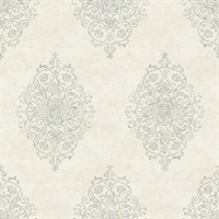 Garwood Cream Damask
