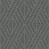 Geo Diamond Charcoal Metallic