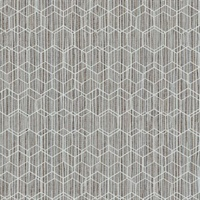 Geometric Faux Grasscloth