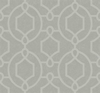 Geometric Loop Traditional Wallpaper