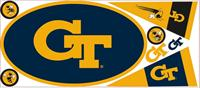 Georgia Tech Giant Peel & Stick Wall Decal