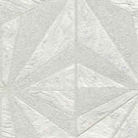 Los Cabos Ivory Marble Geometric Wallpaper