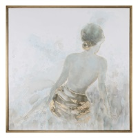 Gold Highlights Feminine Art