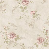 Gracie Floral Scroll