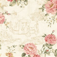 Gracieux Floral Toile