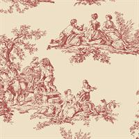 Old Fashioned Toile