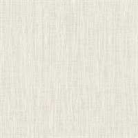 Grasscloth Look Metallic Wallpaper