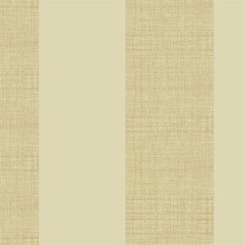 Light Brown Grasscloth Stripe Wallpaper