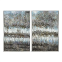 Gray Reflections Wall Art