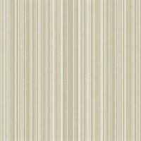 Green Stria Stripe Wallpaper