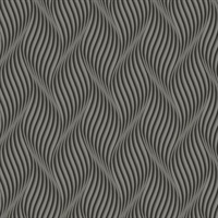Ashford House Groovy Wallpaper - Gunmetal
