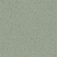 Guri Green Faux Concrete Wallpaper