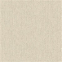 Haast Brass Vertical Woven Texture Wallpaper