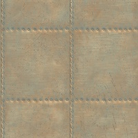 Hale Gold Sheet Metal Wallpaper