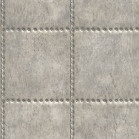 Hale Pewter Sheet Metal Wallpaper