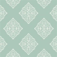 Tropics Henna Tile Wallpaper