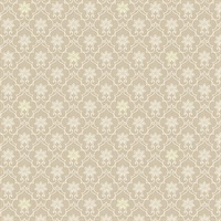 Heston Beige Trellis Wallpaper
