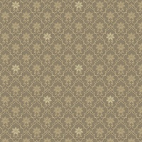 Heston Brown Trellis Wallpaper