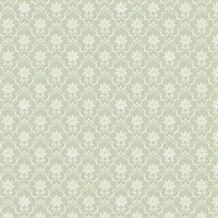 Heston Light Green Trellis Wallpaper