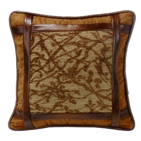 Highland Lodge Framed Pillow