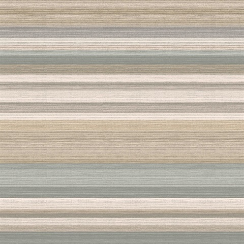 Corbett Metallic Stripe Wallpaper