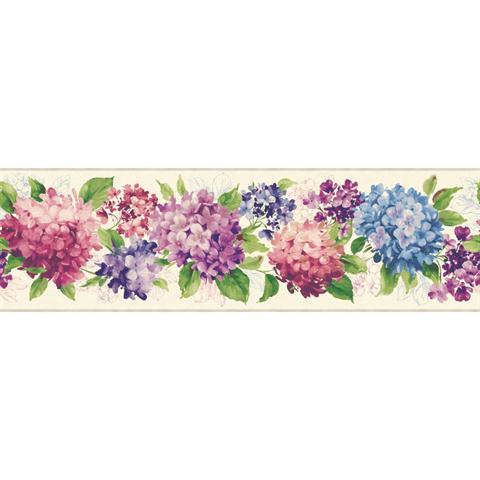 Kh7065bd Hydrangea Floral Totalwallcovering Com