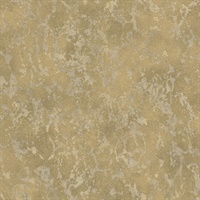 Imogen Brass Faux Marble Wallpaper