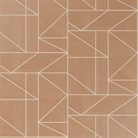 Ina Rose Geometric Wallpaper