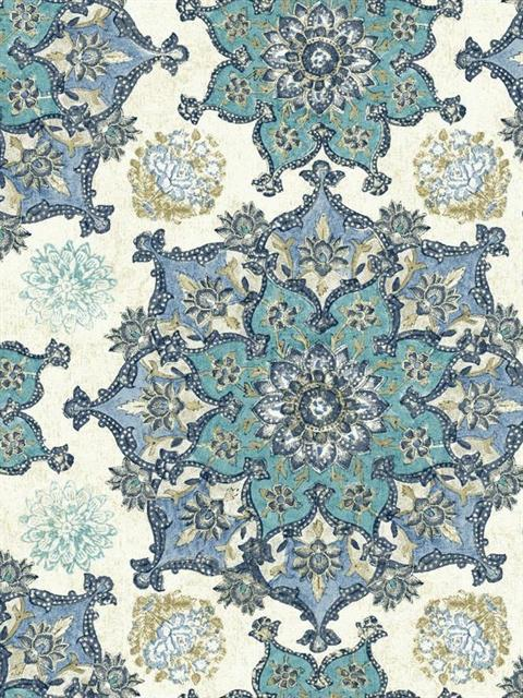 Gc8744 Waverly Global Chic Wallpaper Book By York