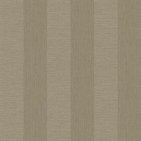 Intrepid Beige Faux Grasscloth Stripe Wallpaper