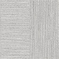 Intrepid Light Grey Faux Grasscloth Stripe Wallpaper