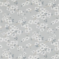 Iona Slate Grey Floral