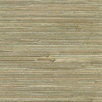 Iriga Gold Grasscloth Wallpaper