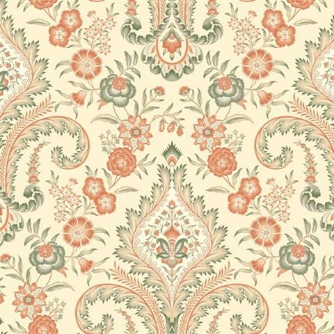 Wm2552 Williamsburg Wallpaper Book By York