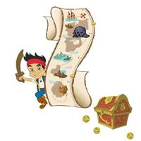 Jake and the Never Land Pirates Growth Chart Standard