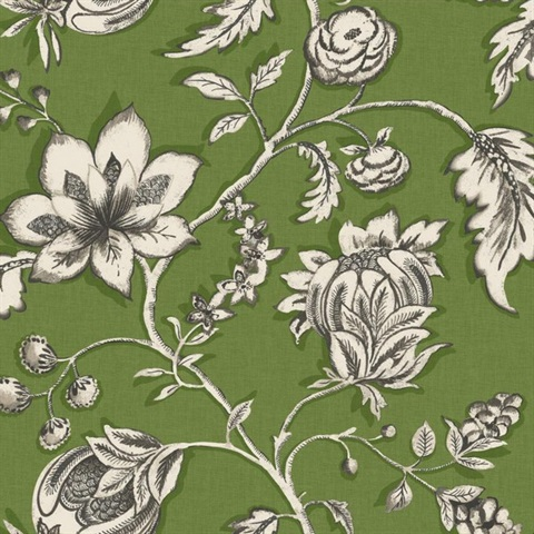 Ms6448 modern shapes wallpaper book by cary lind designs for Jardin floral design