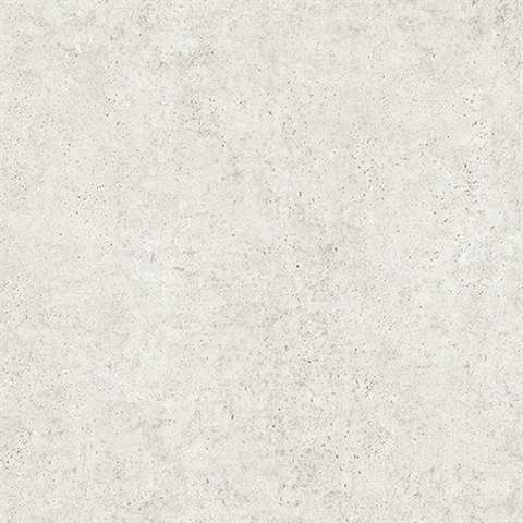 Joaquin Light Grey Faux Cement Wallpaper