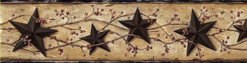 June Heritage Tin Star Border